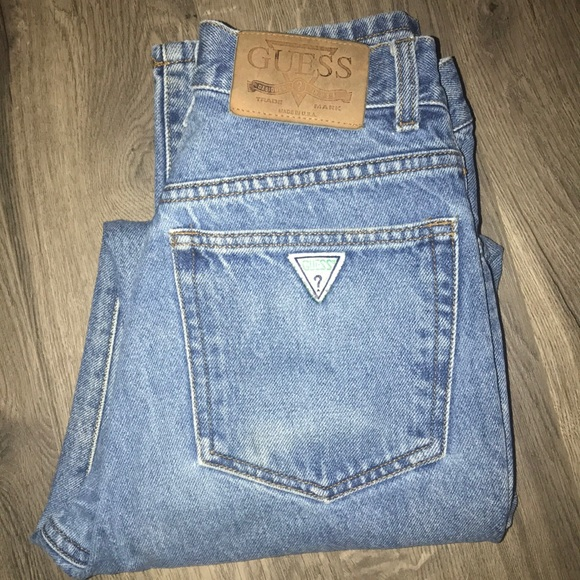 90's Guess Jeans High Waist Mom Jeans by Guess
